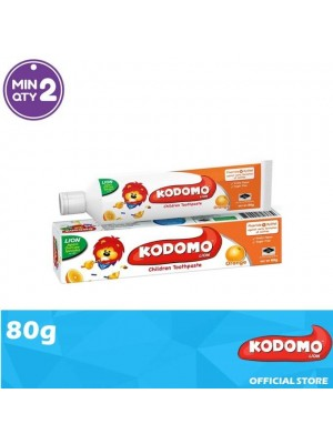Kodomo Lion Toothpaste Orange Flavour 80g