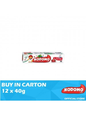 Kodomo Lion Toothpaste Strawberry Flavour 12 x 40g