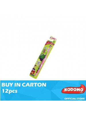 Kodomo Slim & Soft Children Toothbrush (6Years - 9Years) 12pcs