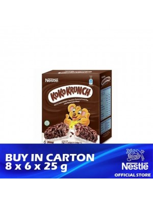 Nestle Koko Krunch Breakfast Cereal Bar 8 x 6 x 25g