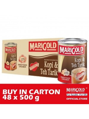 Marigold Sweetened Creamer Kopi & Teh Tarik 48 x 500g