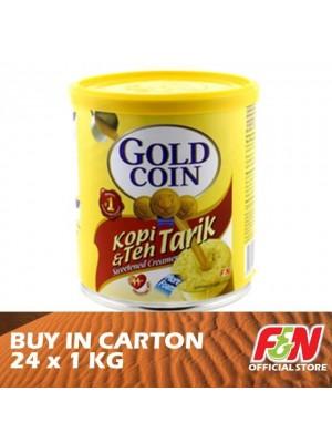 F&N Gold Coin Kopi & Teh Tarik 24 x 1kg
