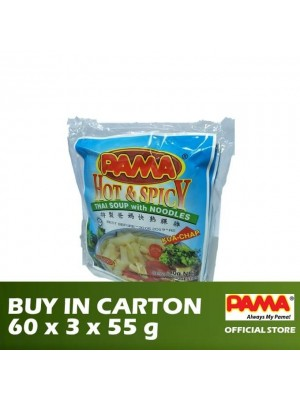 Pama Instant Kua Chap Hot & Spicy Thai Flavour 60 x 3 x 50g