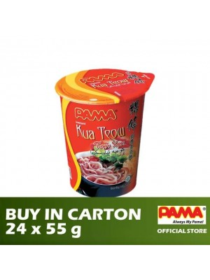 Pama Instant Kua Teow Cup Tom Yam Flavour 24 x 55g