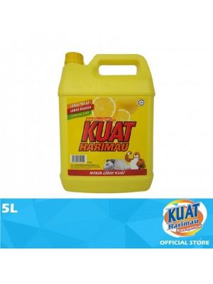 Kuat Harimau Dishwashing Liquid Lemon 5L