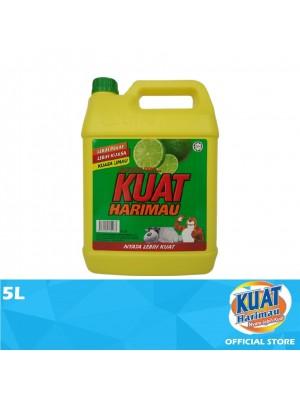 Kuat Harimau Dishwashing Liquid Lime 5L
