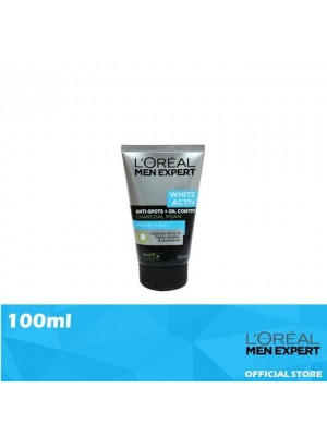 L'Oreal Men Expert White Activ Oil Control Charcoal Foam 100ml