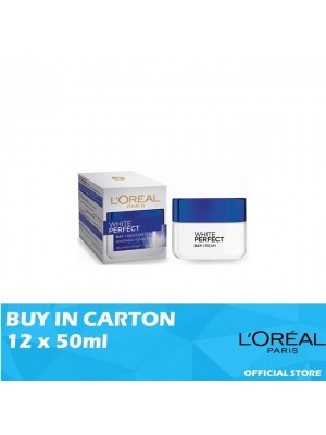 L'Oreal White Perfect Day Cream SPF17 12 x 50ml