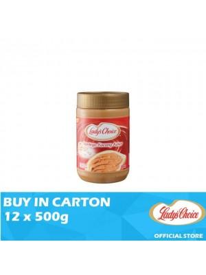 Lady's Choice Peanut Butter Chunky 12 x 500g
