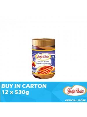 Lady's Choice Peanut Butter Grape Stripe 12 x 530g