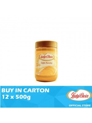 Lady's Choice Peanut Butter Spread 12 x 500g