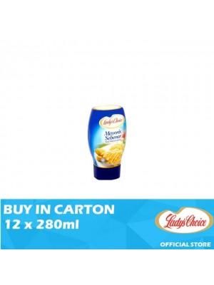 Lady's Choice Real Mayonnaise 12 x 280ml