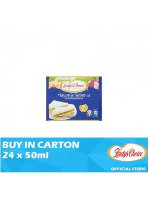 Lady's Choice Real Mayonnaise 24 x 50ml