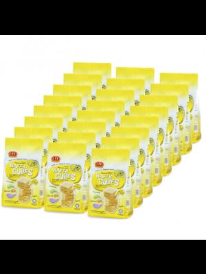 Lee Biscuit Lemon Flavoured Cream Wafer Cubes 24x90g