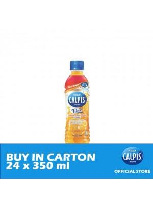 Calpis Less Sugar with Fiber Orange Flavour Cultured Milk Drink  24 x 350ml