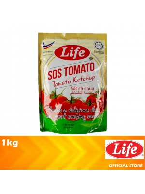 Life Tomato Ketchup Pouch 1kg [MUST BUY]