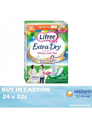 Lifree Extra Dry Pad 20cc 24 x 32s