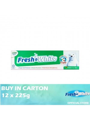 Lion Fresh & White Fresh Cool Mint 12 x 225g