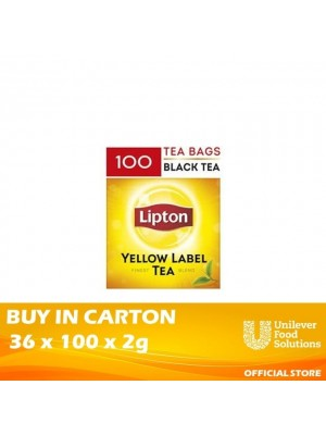 Lipton Catering Tea bags (Non Enveloped) 36 x 100 x 2g