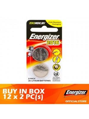 Energizer Lithium Coin 2016 BS 12 x 2pcs