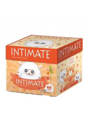 Intimate Long Pantyliner 180mm -60 pcs