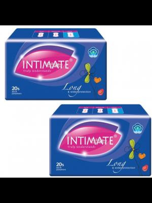 Intimate Long Pantyliner 180mm 2x20 pcs