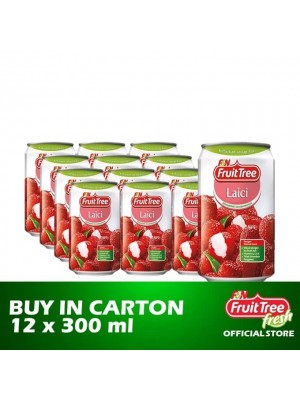 Fruit Tree Lychee with Nata de Coco 12 x 300ml