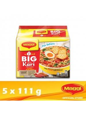 Maggi 2-Minutes Big Curry 5 x 111g