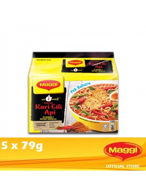 Maggi 2-Minutes Curry Cili Api 5 x 79g