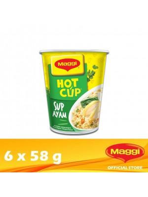 Maggi Hot Cup Chicken 6 x 58g