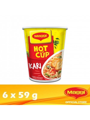 Maggi Hot Cup Curry 6 x 59g
