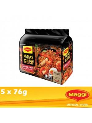 Maggi Pedas Giler Flaming Seafood 5 x 76g