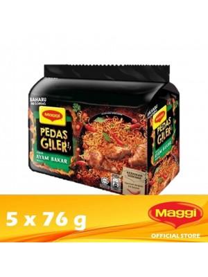 Maggi Pedas Giler Roasted Chicken 5 x 76g