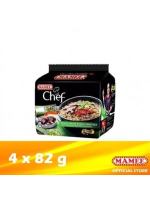 Mamee Chef Bundle Spicy Chicken Shiitake 4 x 82g (EXP : 05/2021) [MUST BUY]