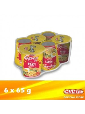 Mamee Express Cup Noodle Curry 6 x 65g (EXP : 04/2022) [MUST BUY]