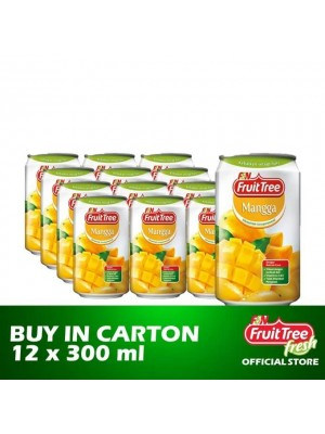 Fruit Tree Mango with Nata de Coco 12 x 300ml