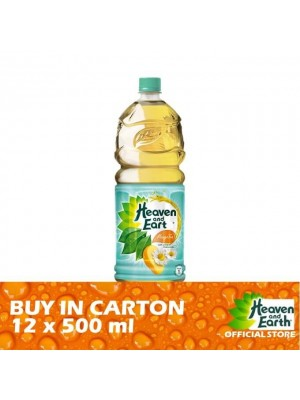 Heaven and Earth Mango Chamomile  PET 12 x 500ml