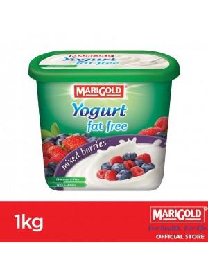 Marigold 0% Fat Yogurt Mixed Berries Flavour 1kg