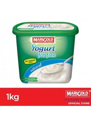 Marigold 0% Fat Yogurt Natural Flavour 1kg