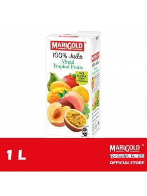 Marigold 100% Juice Mixed Tropical Fruits 1L