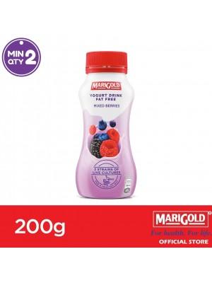 Marigold Fat Free Yogurt Drink Mixed Berries Flavour 200g