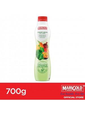 Marigold Fat Free Yogurt Drink Mixed Fruits & Vegetables with Wheatgrass 700g