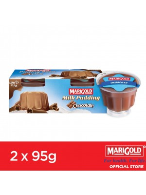 Marigold Milk Pudding Chocolate Flavour 2 x 95g