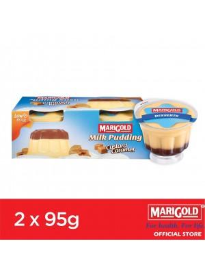 Marigold Milk Pudding Custard Caramel Flavour 2 x 95g