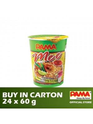 Pama Instant Mee Cup Shrimp Tom Yam Flavour 24 x 60g