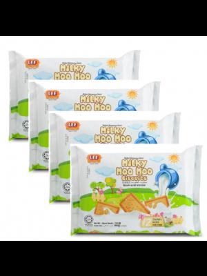 Lee Biscuit Milky Moo Moo Biscuits 4x160g