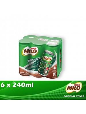 Milo Activ-Go Original Can 6 x 240ml