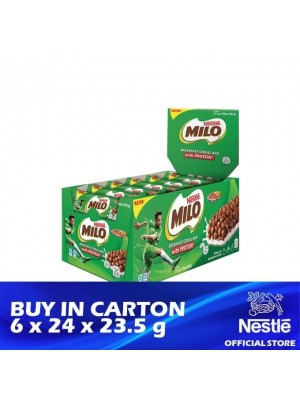 Nestle Milo Breakfast Cereal Bar 6 x 24 x 23.5g