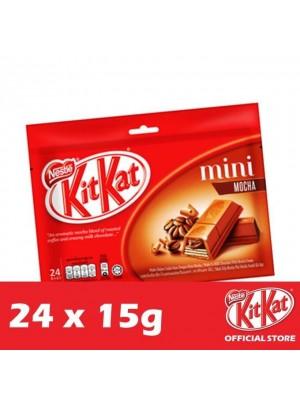 Nestle KitKat Mini Mocha 24 x 15g