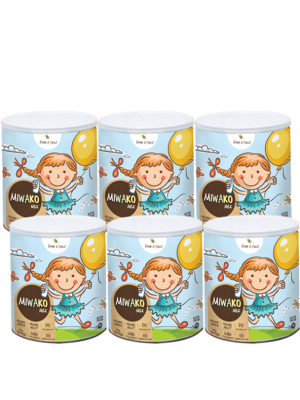 Dale & Cecil Miwa Milk Powder 6x700g